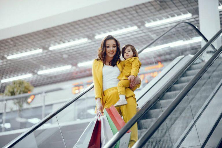 Rolltreppe Einkaufscenter