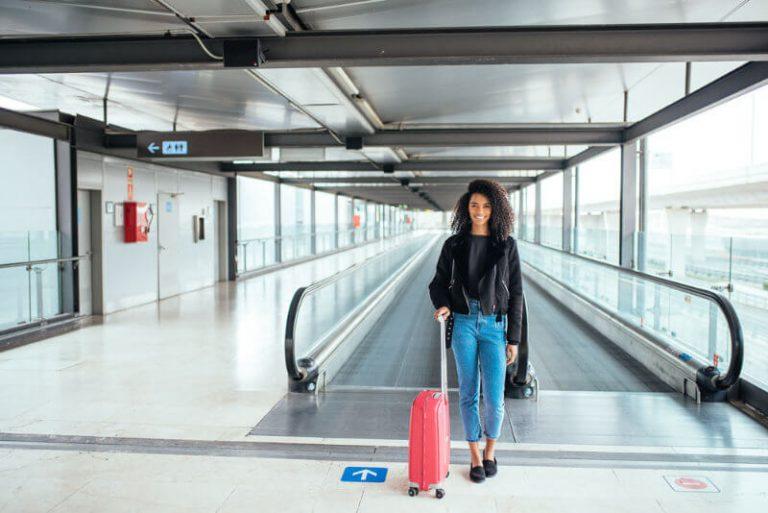 Fahrsteg Flughafen