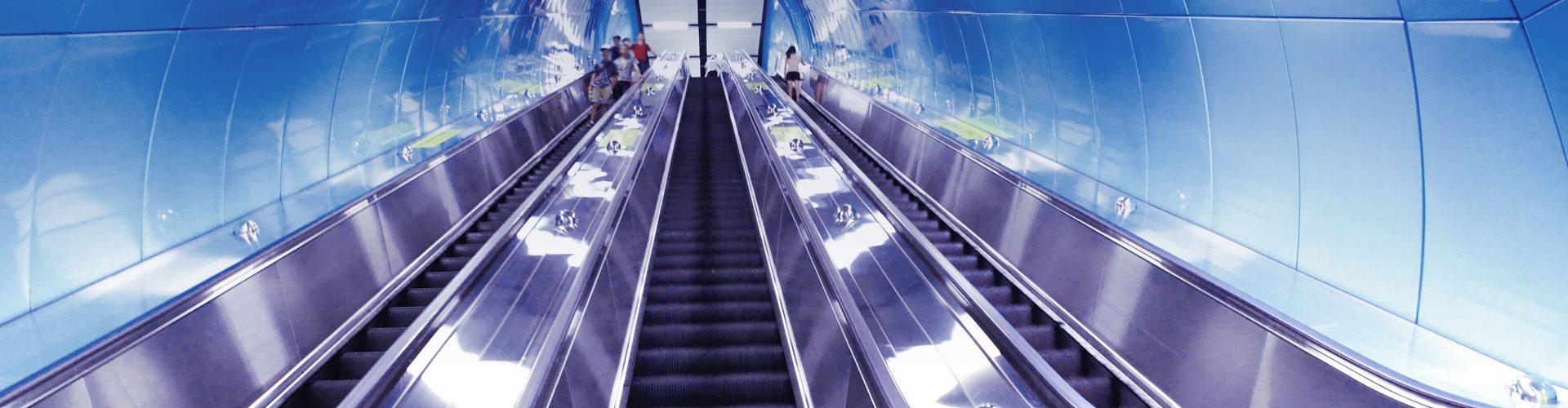 Rolltreppe U-Bahn